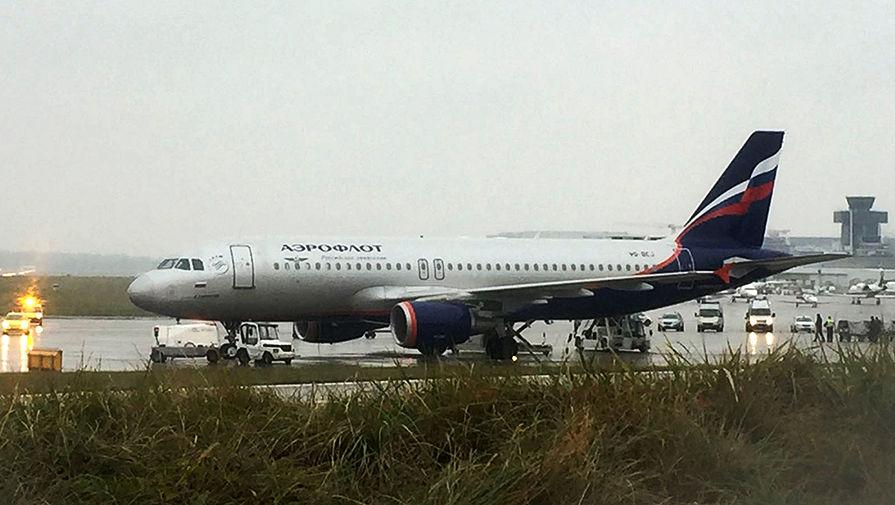 Пассажиров «Аэрофлота» эвакуировали из-за сообщения обомбе наборту