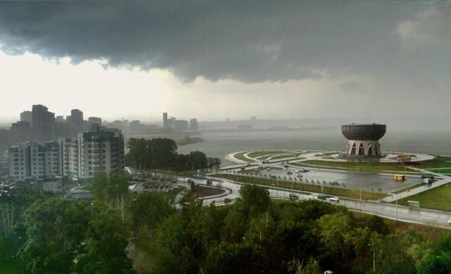 ВКазани прогнозируется теплая погода без осадков