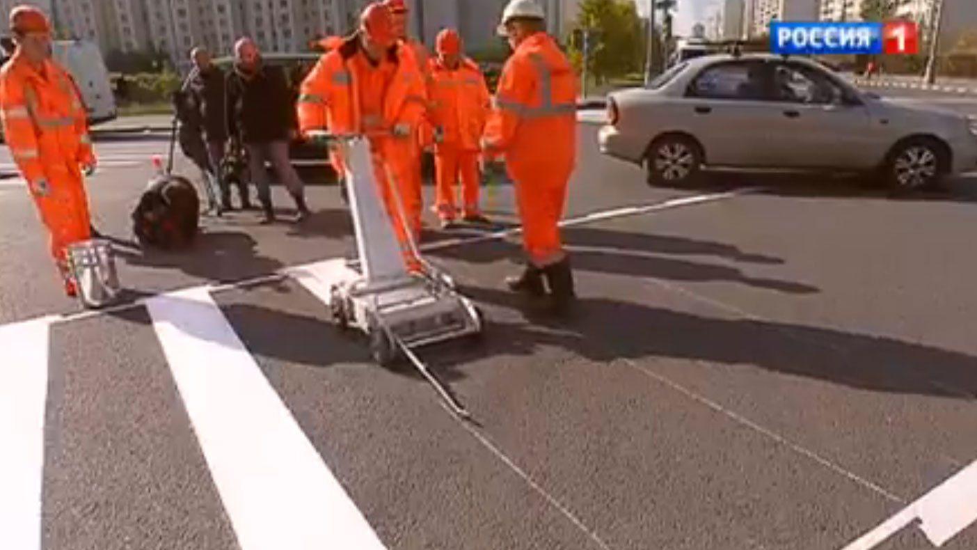 ВРТ запустят производство световозвращающих шариков для разметки дорог