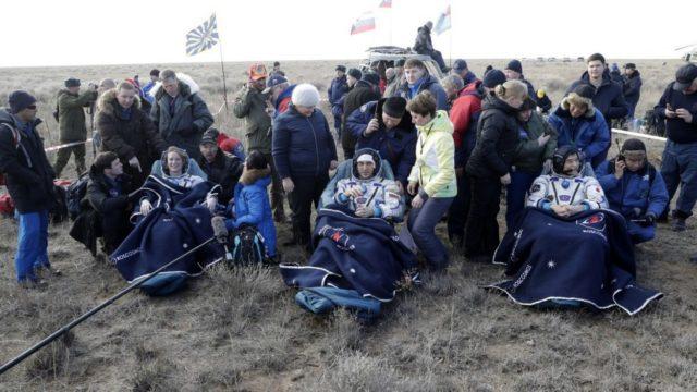 Военные летчики обеспечат успешную посадку экипажа «СоюзМС» вКазахстане