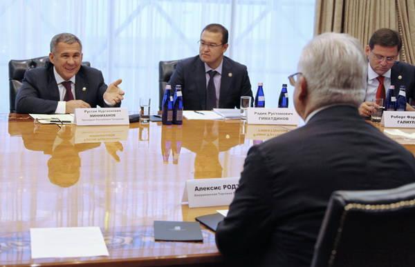 Татарстан и штатская коммерческая палата подписали соглашение осотрудничестве