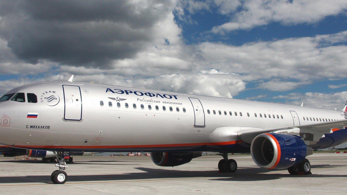 «Аэрофлот» отменяет 8 рейсов из«Шереметьевo» 3ноября из-за ожидаемого снегопада