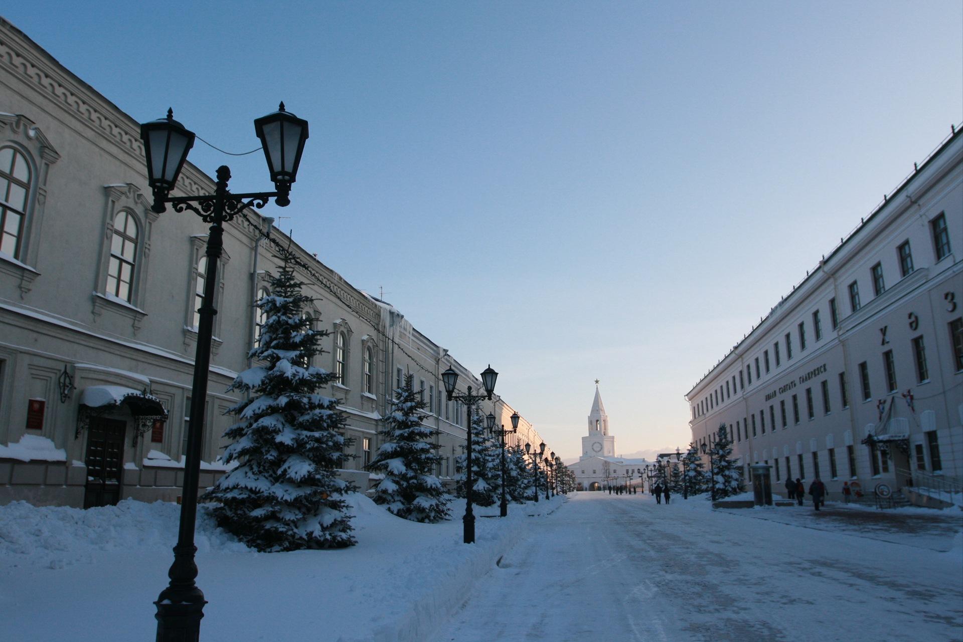 Гидрометцентр Татарстана предупредил оморозе итумане