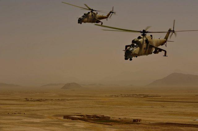Боевики ИГИЛ сообщили осбитом русском вертолете вСирии