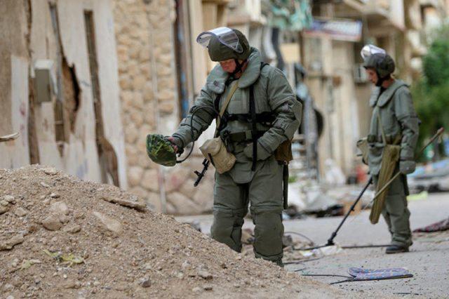 Россия направит саперов в Алеппо