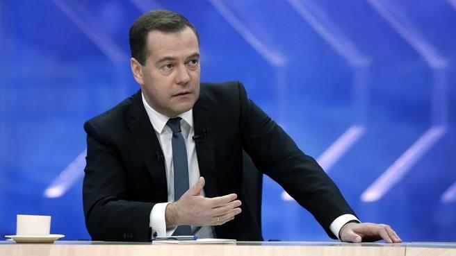 Втечении следующего года инфляция будет самой низкой завсю историю РФ — Медведев