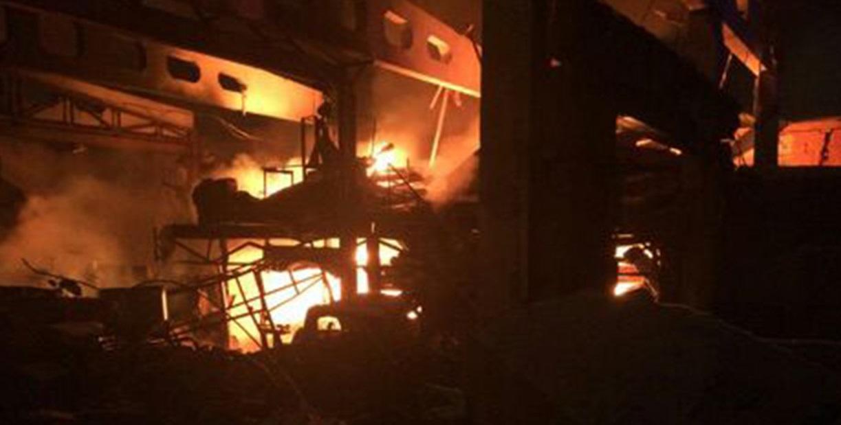 Напожаре вНижнекамске погибли три человека