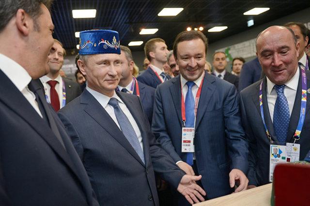 Путин обозначил превосходный инвестиционный климат вТатарстане