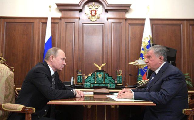 Путин: Контрольный пакет акций Роснефти останется вруках государства