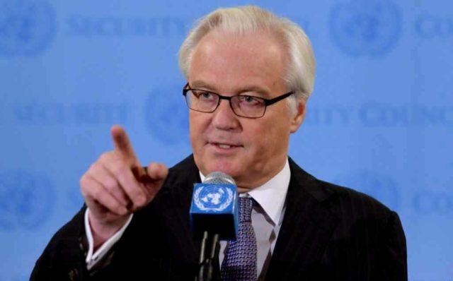 Чуркин на совещании Совбеза ООН напомнил о«сомнительном послужном списке» США