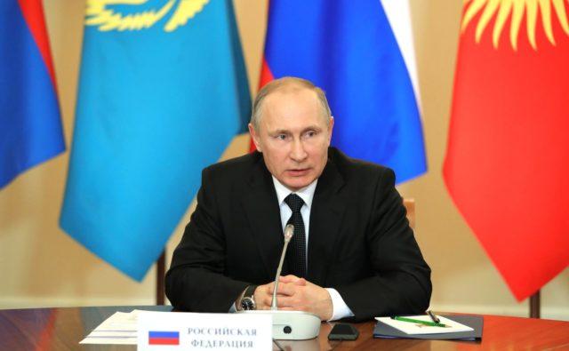 Путин объявил на совещании ОДКБ обеспокойстве из-за пламенных точек