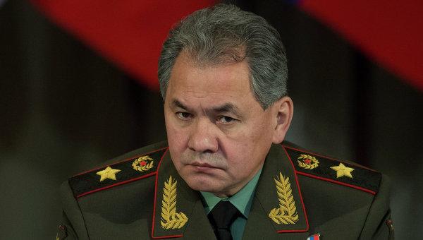 ВРТ прибыл министр обороныРФ Сергей Шойгу
