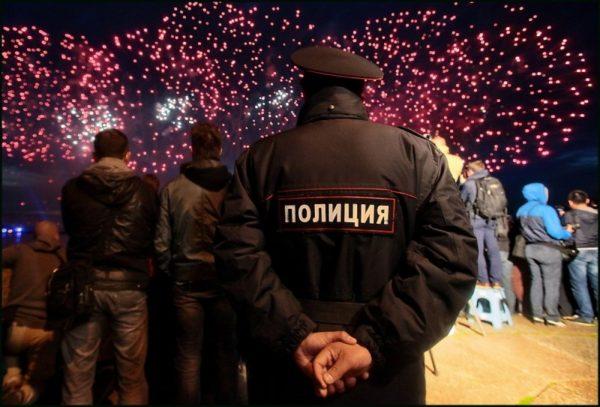 Впраздновании Нового года в российской столице участвовали около 3-х млн. человек