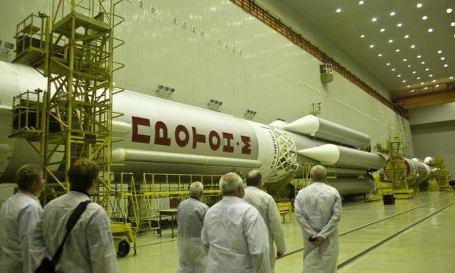Роскосмос отзовет все двигатели 2-ой и 3-й ступени ракет-носителей «Протон-М»