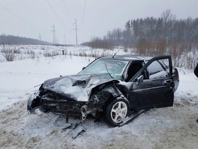 Вмассовом ДТП вНижнекамске пострадали шесть человек