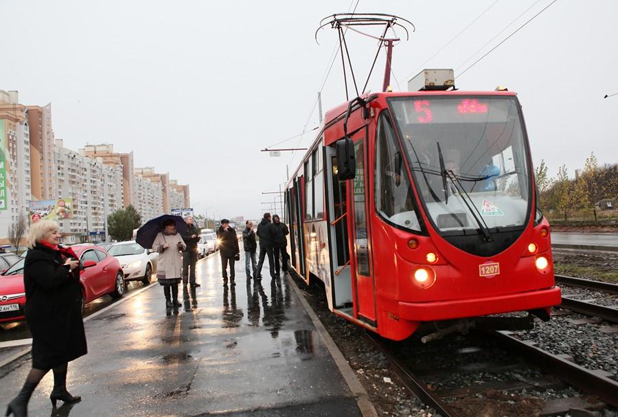 Казань в2015 году закупит 15 троллейбусов и7 трамваев