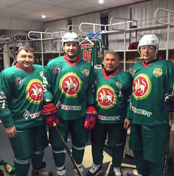 ВКазани гала-матч Кубка чемпионов НХЛ закончился вничью