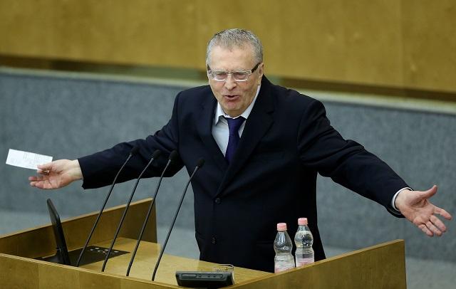 Владимир Жириновский вкоторый раз избран напост председателя ЛДПР
