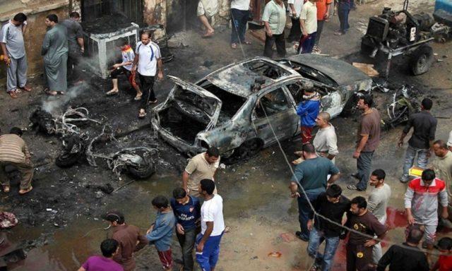 Известно о15 погибших, 50 человек ранены— Теракт вБагдаде