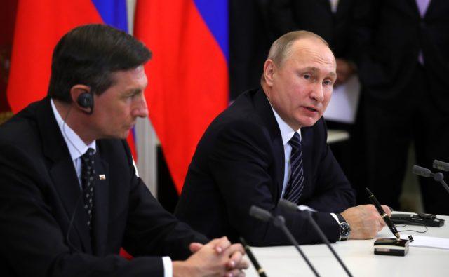 РФ иСловения подпишут договор попоставкам газа на2018-2022 годы