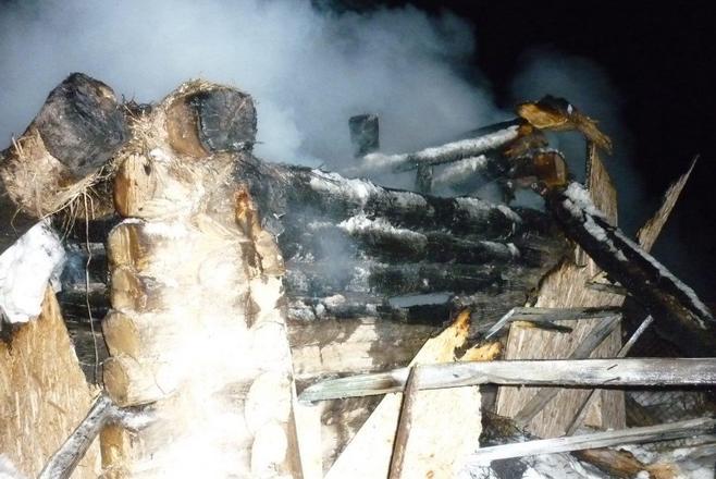 ВАльметьевском районе мужчина сгорел вбане
