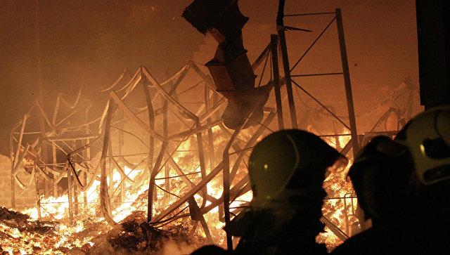 Генпрокуратура считает диверсию предпосылкой взрывов склада под Харьковом