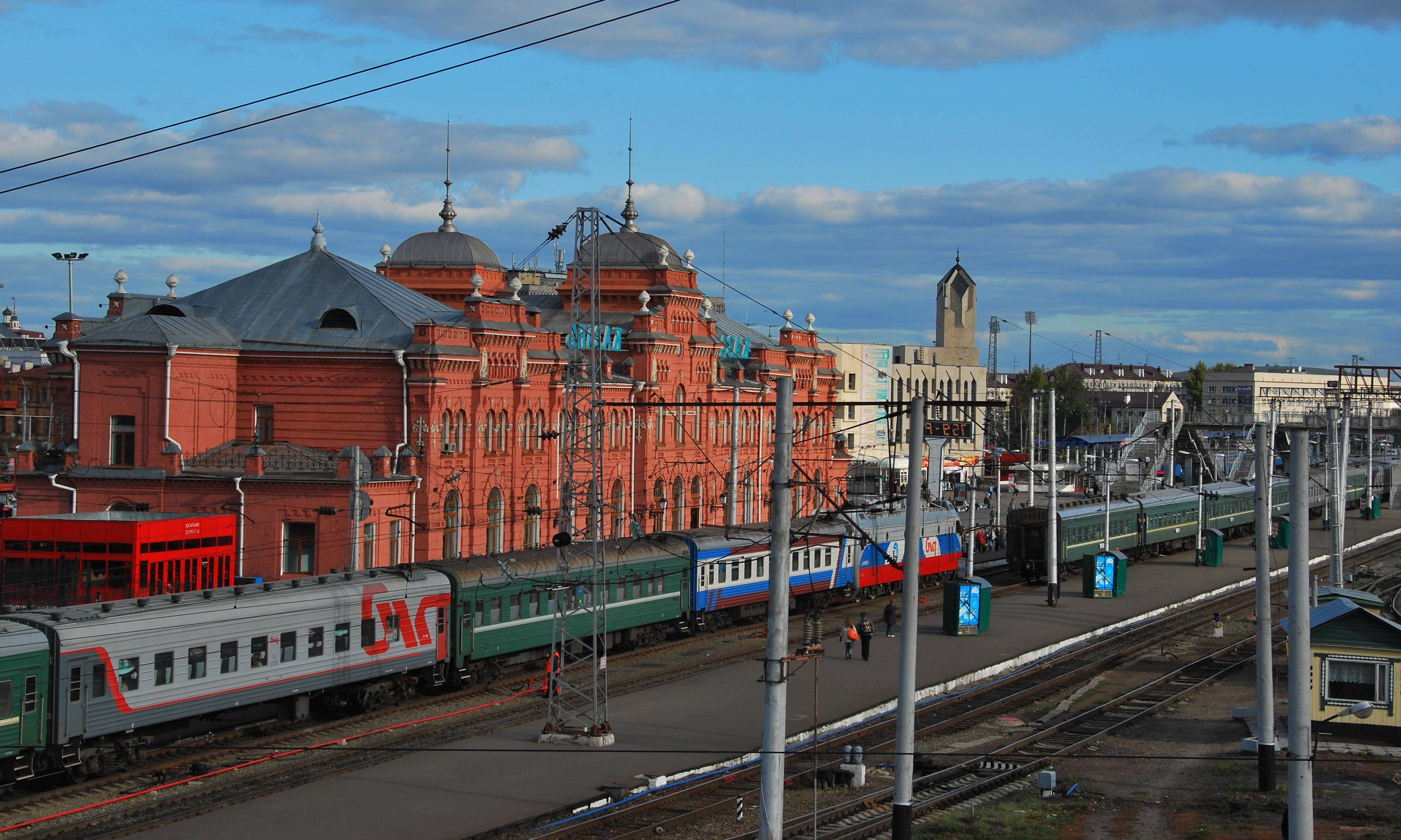Насамарском вокзале будут говорить на 2-х языках— русском ианглийском