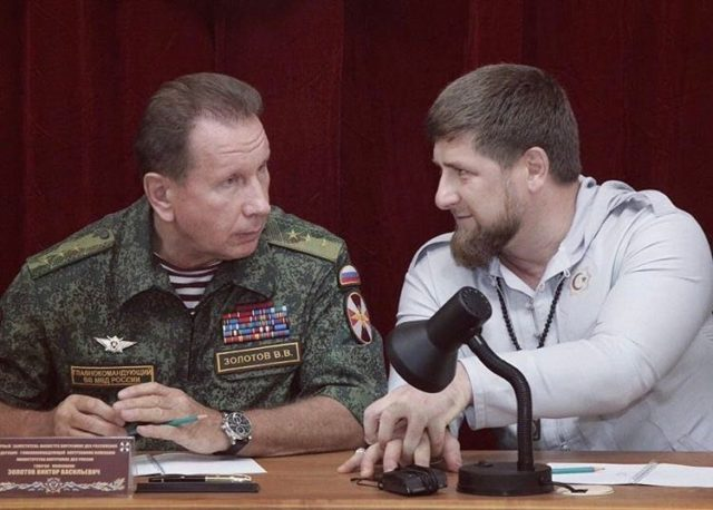 ВЧечне погибли шесть военных при нападении боевиков начасть Росгвардии