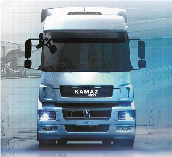 Сконвейера сошли первые фургоны КАМАЗ-5490 NEO