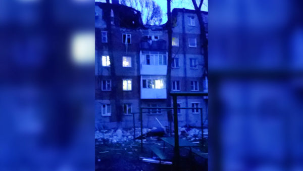 Строители усиливают строение после взрыва газа вТаганроге