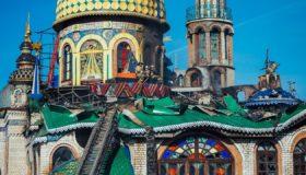 Пожар в казанском Храме всех религий