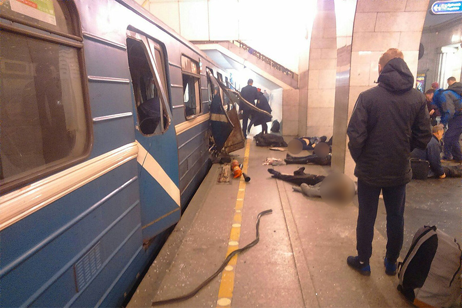 Количество погибших при взрыве впетербургском метро достигло 14