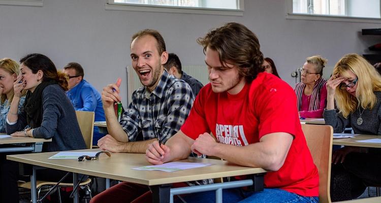 ВКазани «Тотальный диктант» на«отлично» написали 4% участников