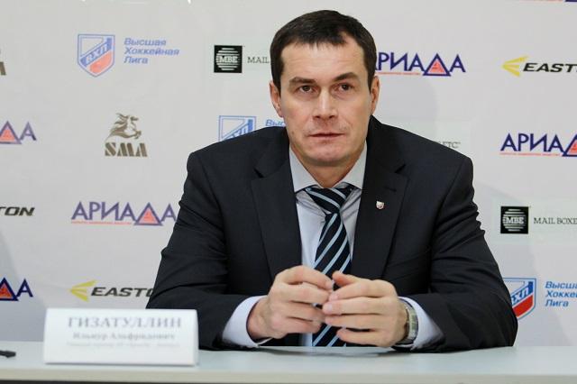 Основным тренеромХК «Нефтяник» назначен Ильнур Гизатуллин