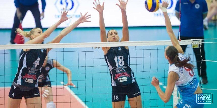 Столичное «Динамо» сравняло счет в заключительной серии чемпионата РФ сКазанью