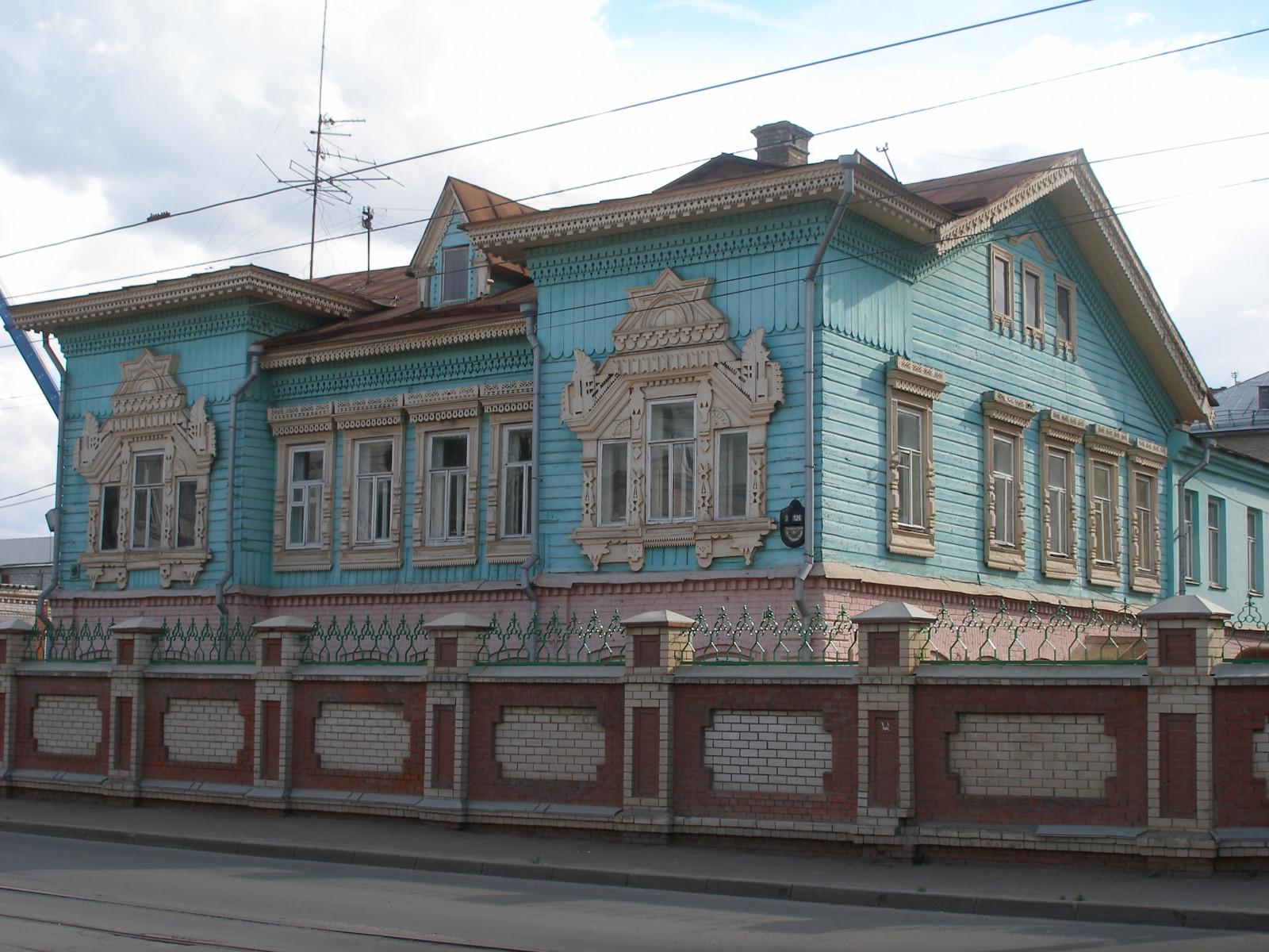 «Дом Крестовникова» вКазани реставрировали без лицензии