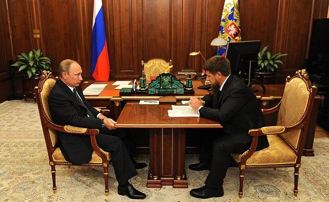 Путин обсудил с Кадыровым вопросы борьбы с терроризмом