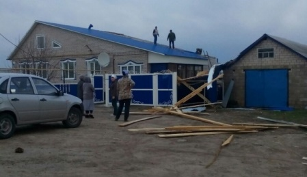 ВТатарстане шторм  сломал  десятки домов