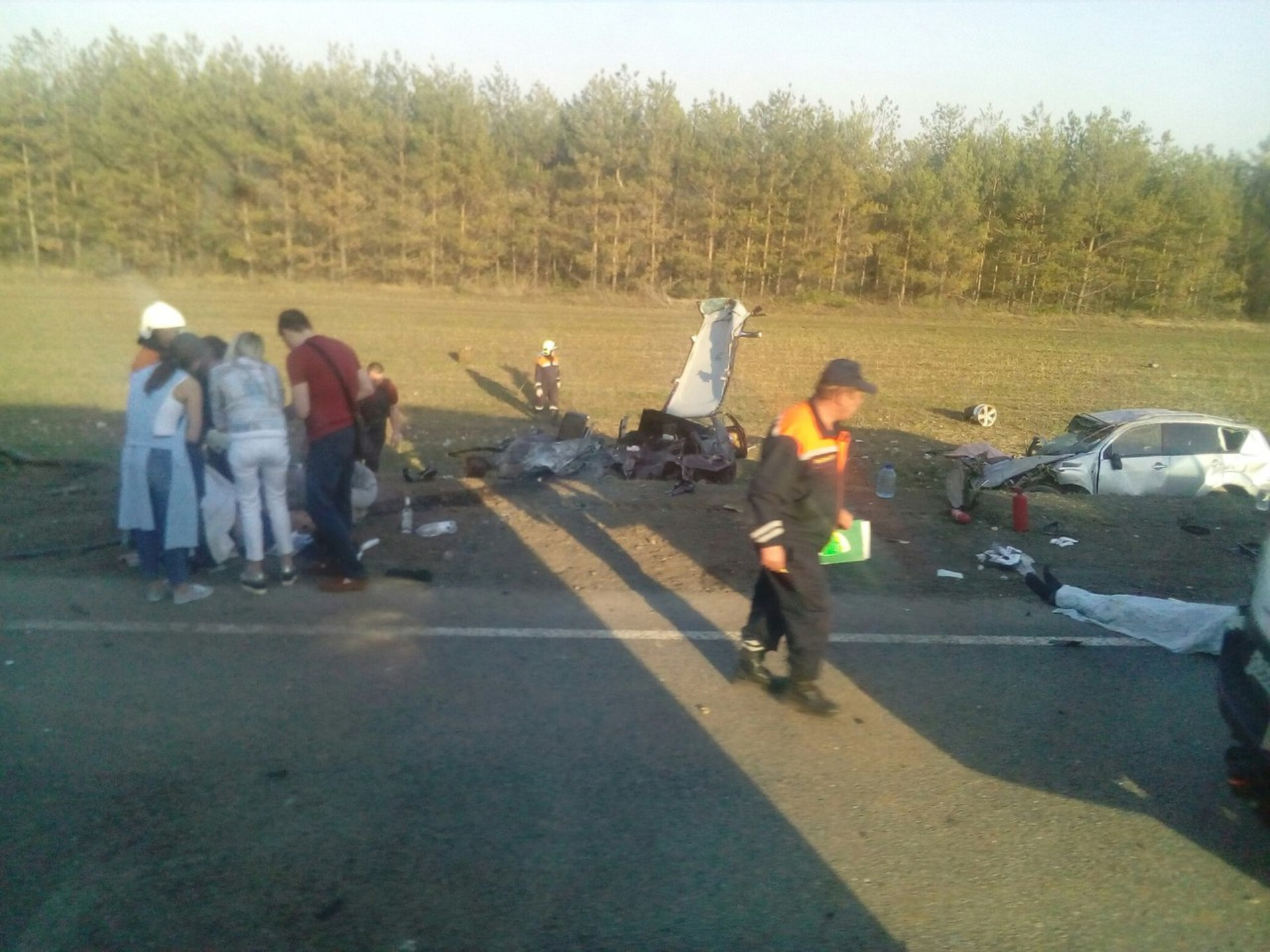 Вкрупном ДТП вТатарстане погибло 4 человека