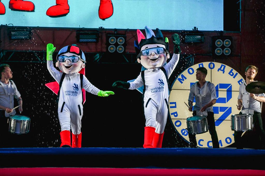 ВКраснодаре представили талисман WorldSkills-2019, который пройдет вКазани