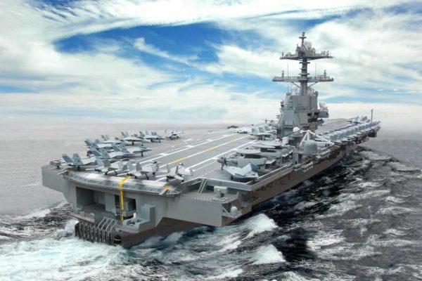 ВМС США похвастались самым дорогим имощным авианосцем