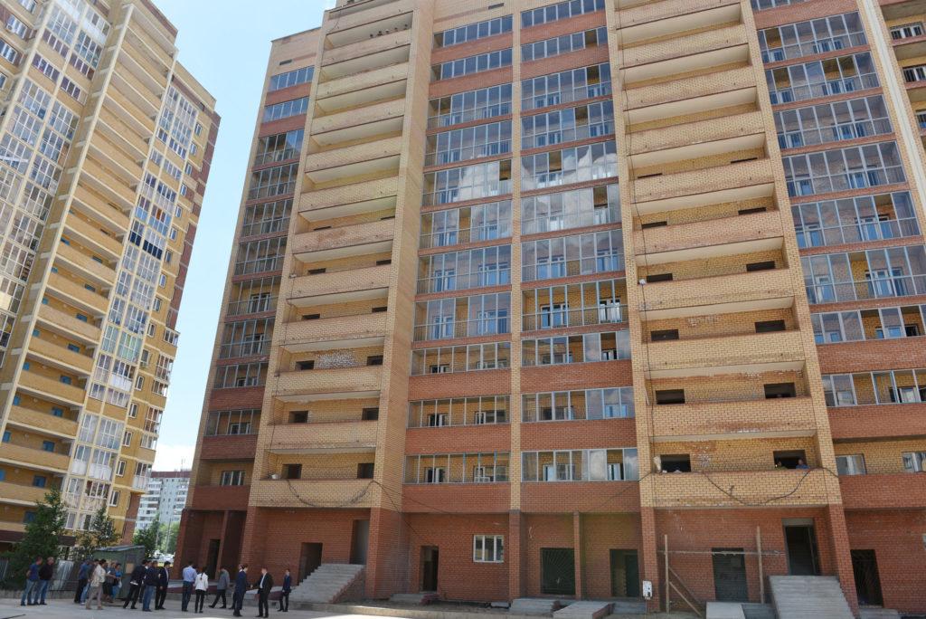 Доконца лета вКазани сдадут один проблемный дом «Фона»