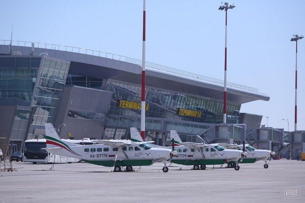 Всамом начале года аэропорт «Казань» обслужил 1 млн пассажиров