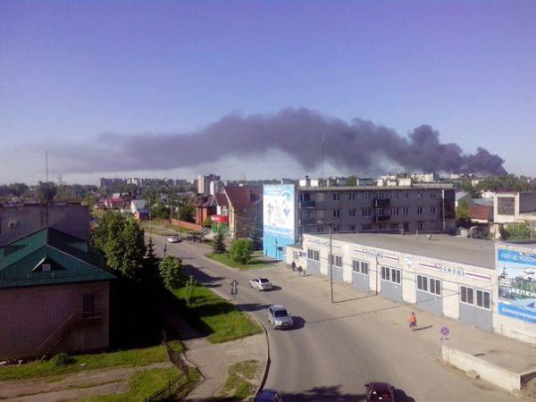 Пожар назеленодольском заводе POZIS потушен