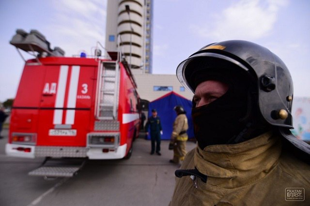 Впожаре наулице Дубравной вКазани были спасены 15 человек
