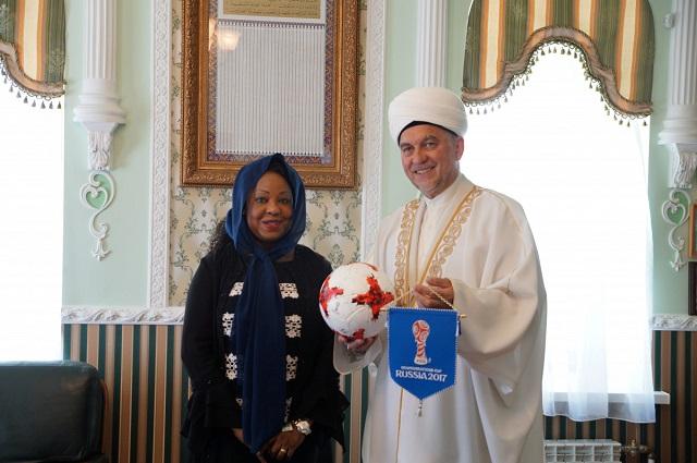 Генеральный секретарь ФИФА посетит старейшую мечеть Казани