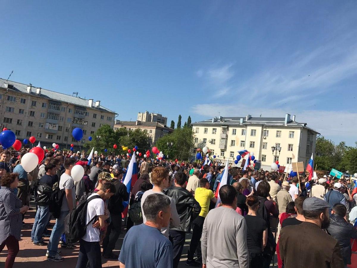 ВКазани схвачен  организатор антикоррупционного митинга