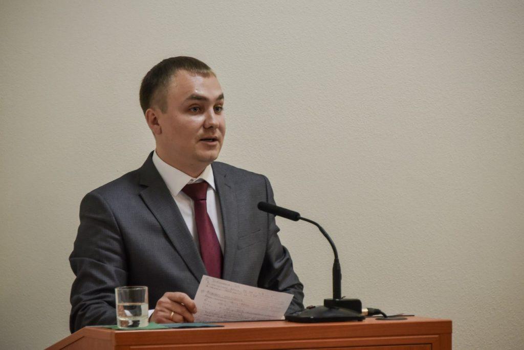 Новым управляющим исполкома Нижнекамска избран Денис Баландин