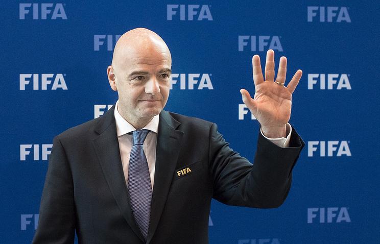 Кубок Конфедераций вКазани прошел навысоком уровне— Президент ФИФА Инфантино