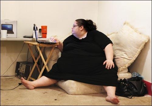 Самая толстая женщина в мире и ее